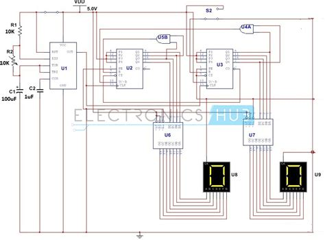capacitance meter in multisim simple digital stopwatch circuit working and applications