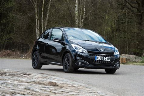 black peugeot peugeot 208 black edition review pictures auto express