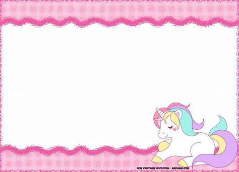 printable unicorn birthday free printable unicorn birthday invitation template