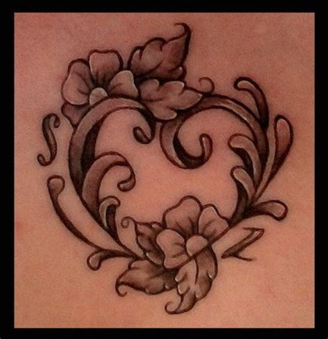 heart and flower tattoo designs 85 best images about tattoos on black flower