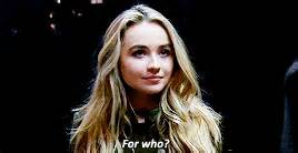 Crty Sabrina my box of gifs gif hunt sabrina carpenter quot talking