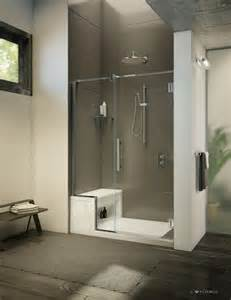 fleurco aser6036 18 alessa 60 x 36 inch shower base with seat