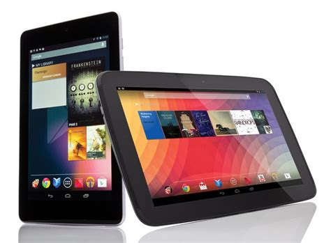 what s the best android tablet nexus 7 vs nexus 10 comparison review review pc advisor