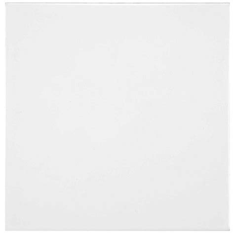 White Ceramic Floor Tile Merola Tile White 7 3 4 In X 7 3 4 In Ceramic Floor