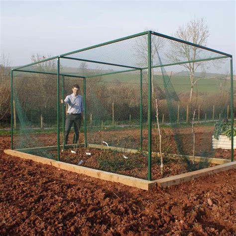fruit tree cage walk in fruit cage with door dobies