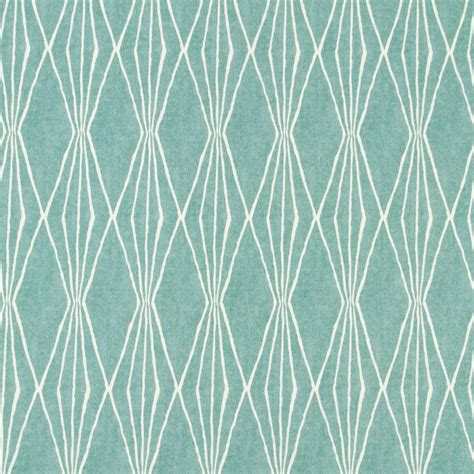 drapery material aqua upholstery fabric geometric design fabric by