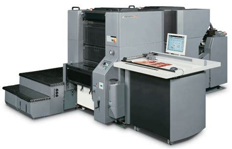 Printer Offset Digital presstek presented in graphispag digital your machine