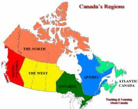 regional map of us and canada bc fox and the
