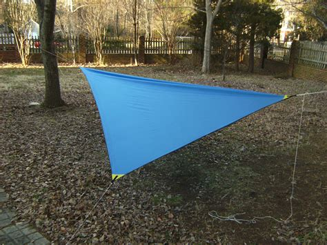 Asymmetrical Hammock how to make a diy asymmetrical hammock cing tarp myog