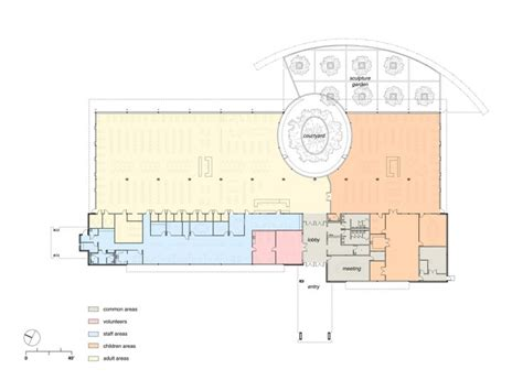 public floor plans schertz public library kell mu 241 oz architects floor plan