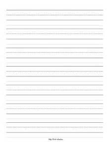 Kindergarten Writing Paper Template by Kindergarten Writing Paper Education Article