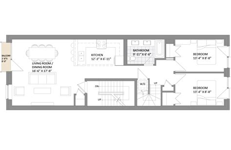 passive house floor plans tour brooklyn s first net zero capable solar powered