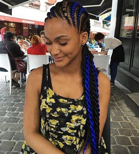 chic african american braids  hot