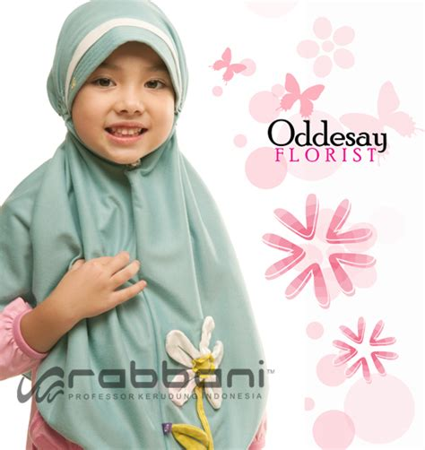Jilbab Rabbani Oddesey Kerudung Anak Rabbani Raudhatul Muslim