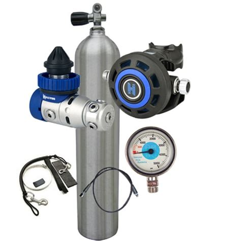 halcyon dive equipment halcyon stage bottle regulator package with free scuba