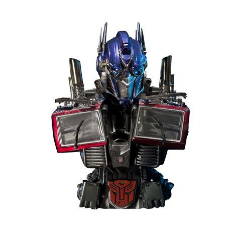 Topeng Transformer Optimus Prime sideshow collectibles transformers optimus prime of the moon bust my box