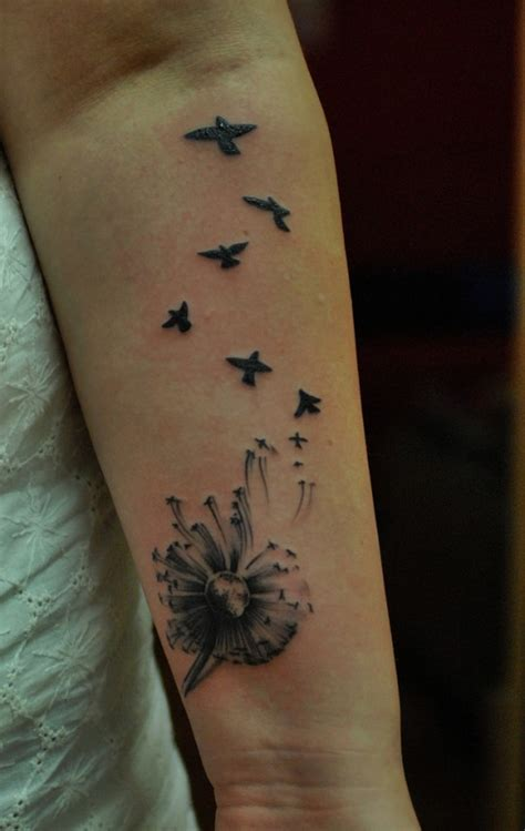 tattoo inspiration arm girl 18 sophisticated dandelion tattoos ideas codeknows