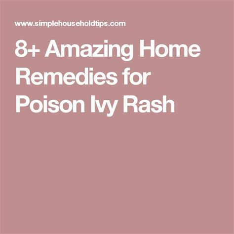 8 Amazing Home Remedies For 17 Best Ideas About Remedies For Poison On