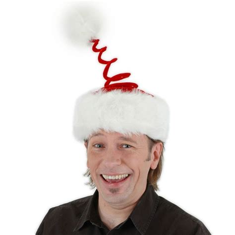 elope springy santa hat novelty hats view all