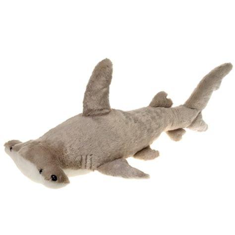 large stuffed hammerhead shark 28 inch plush animal by fiesta