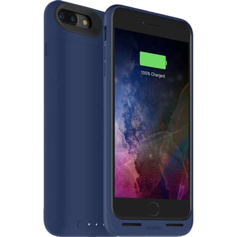 mophie juice pack air for iphone 7 plus blue 3788 b h photo