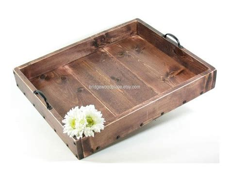 large wood serving tray ottoman ottoman tray large wood coffee table tray dry use serving