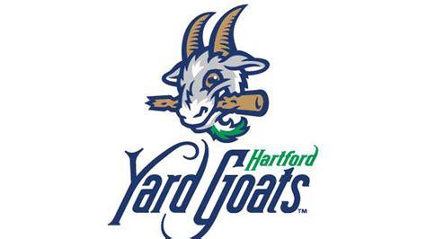 the backyard goat the hartford yard goats have a logo with a goat sbnation com