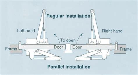 door closer diagram nhn 510 series micom autodoor