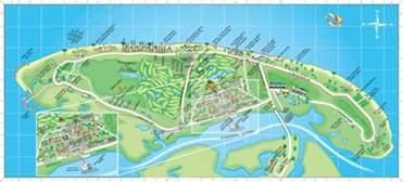 map of jekyll island attractions blissful oaks jekyll island vacation home