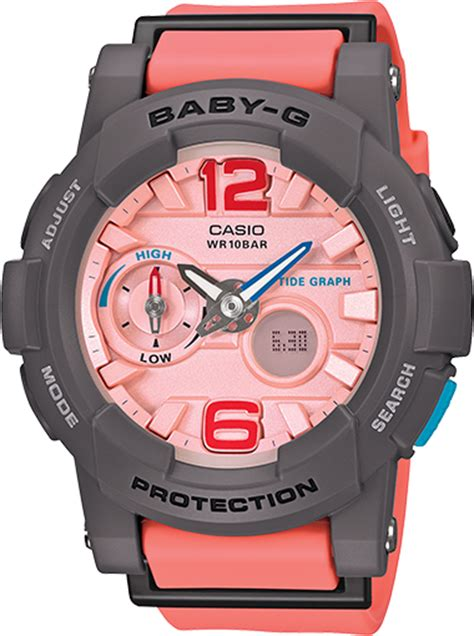 Jam Tangan Wanita Spport Casio Baby G Natasya Willona Model Terbaru 4 bga180 4b2 baby g pink womens watches casio baby g