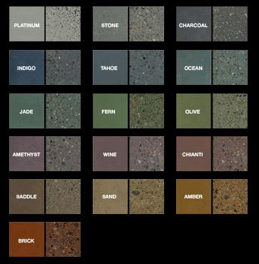 cement color mix custom concrete design inc specializing in decorative
