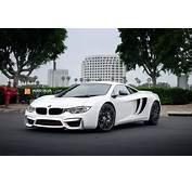 This BMW/McLaren Supercar Mashup Doesnt Look Half Bad