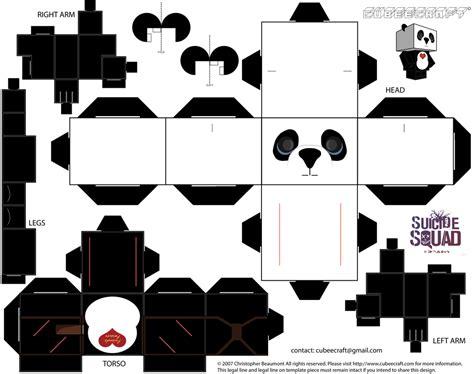 Paper Craft Panda - panda cubeecraft by jagamen on deviantart