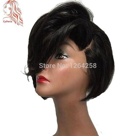 human hair inverted bob wigs 2017 popular short bob wig 150 densirty virgin brazilian
