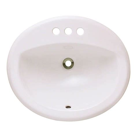 bisque bathroom sink polaris sinks overmount porcelain bathroom sink in bisque