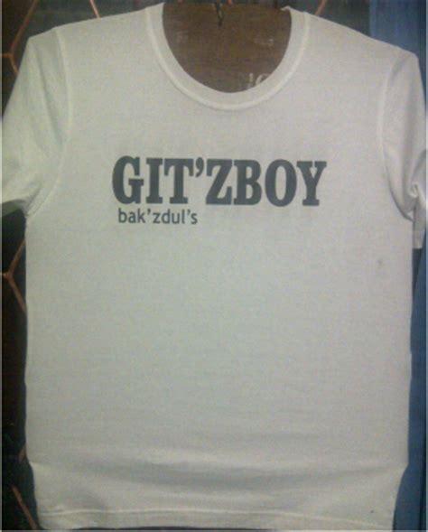 Kaos Boy Clothing sablon kaos komunitas git zboy balikpapan sablon