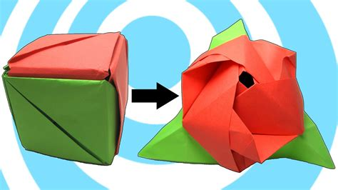How Do You Make A Paper Cube - modular origami magic cube 123vid