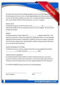 Dry Hire Agreement Template Benjaminekials Life Topics