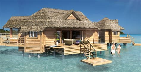 island bungalow sandals adds overwater bungalows to island resort