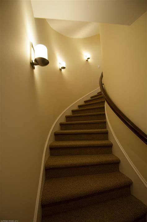 sconces  stairway gross electric