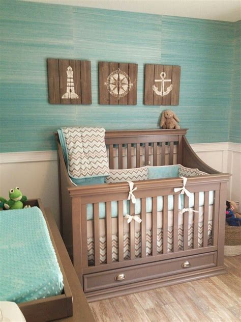 cute themes for boy nursery baby nursery decor ocean color theme boys baby ideas for