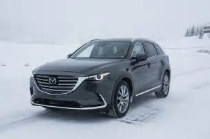 2016 mazda cx 9 front three quarter in motion motor trend