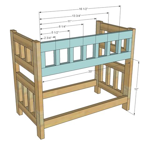 Pdf Diy Wood Plans Doll Bed Download Wood Plans Software Baby Doll Bunk Bed Plans