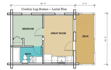 320 square feet lariat plan 320 sq ft cowboy log homes