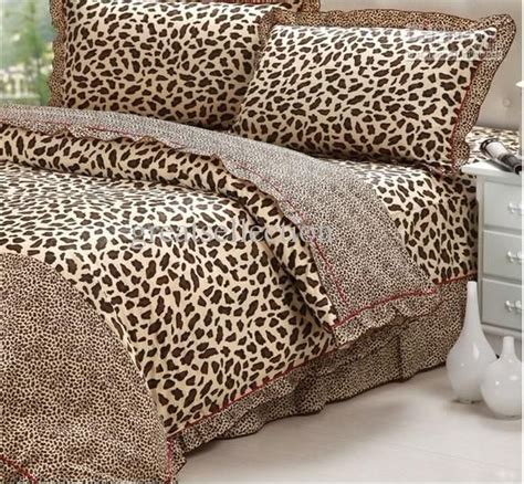 leopard bed set 1000 ideas about leopard print bedding on pinterest