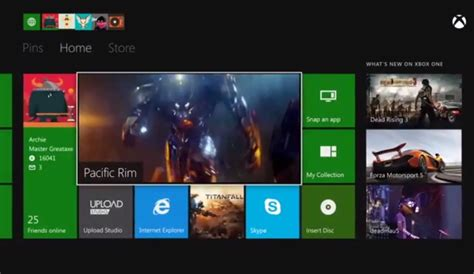 microsoft posts showing xbox one dash and multi