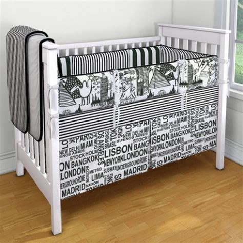 Black And White Boy Crib Bedding Carousel Designs Black And White Custom Crib Bedding Baby Boy 2 Pinterest Carousel