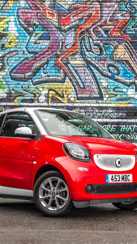 wallpaper smart fortwo passion cabrio cabriolet red