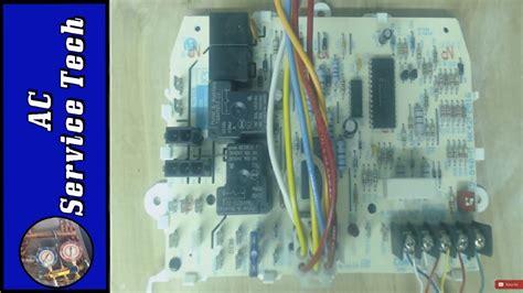 troubleshooting  furnace control board ifc  test