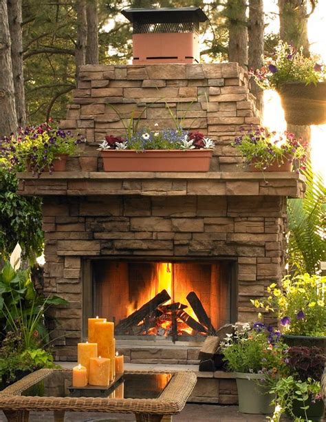183 best images about outdoor fireplaces on